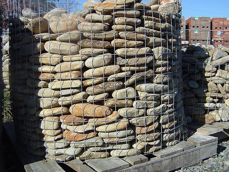 Stone, Flagstone, Veneer, Boulders for paving, walls, and ... |Oversized River Gravel