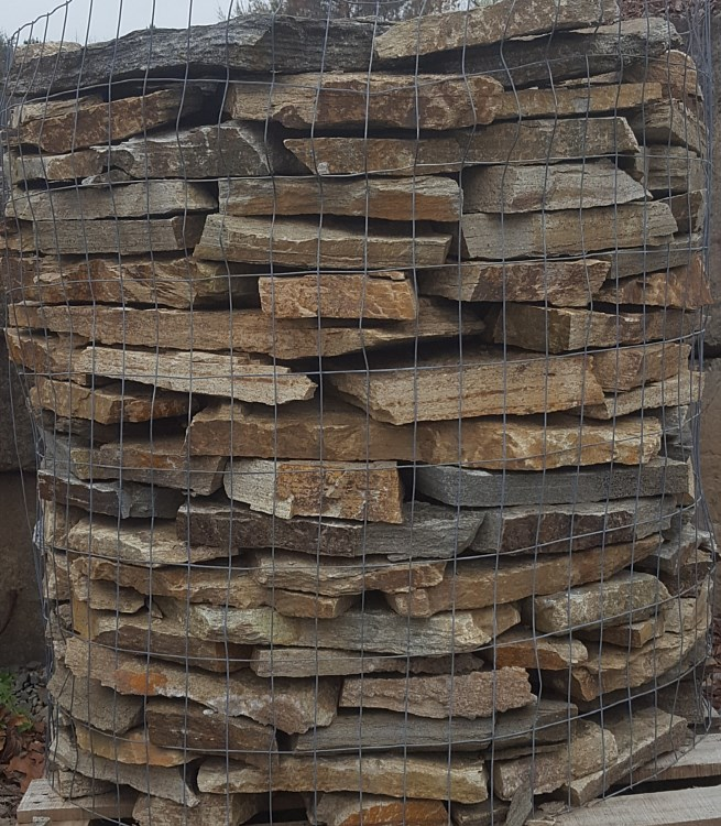 Stone Flagstone Veneer Boulders For Paving Walls And
