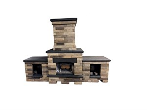 Beaufort Fireplace Woodboxes